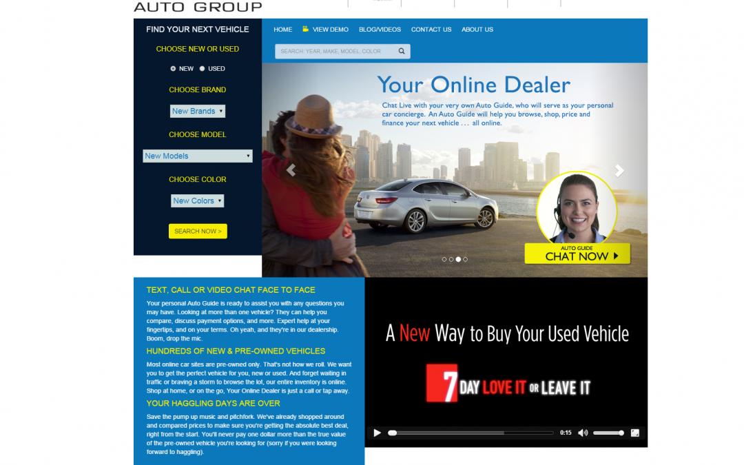 Vertragshändler in den USA startet mit dem Autoverkauf online