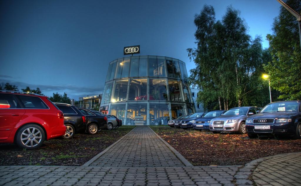 Audi Autohaus eröffnen flickr