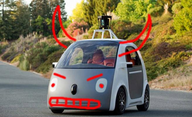 """Die neue Spassbremse von Google namens """"Autonomes Fahren"""""""