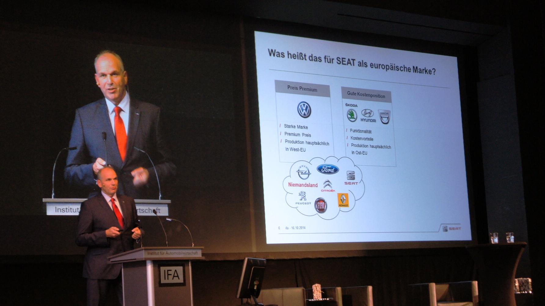 IfA Geislingen Jürgen Stackmann beim Tag der Automobilwirtschaft 2014